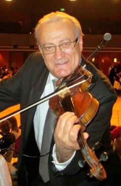 Musikstudium Bukarest, Geigenspiel, Viorel Petrovicescu