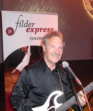 Musiker, Showgeschäft, Gitarre Filder-Express